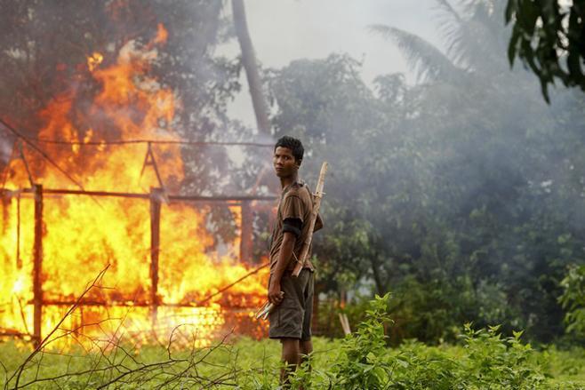 羅興亞人在緬甸的家園不斷遭到蓄意焚毀。 (人權觀察組織官方網站)