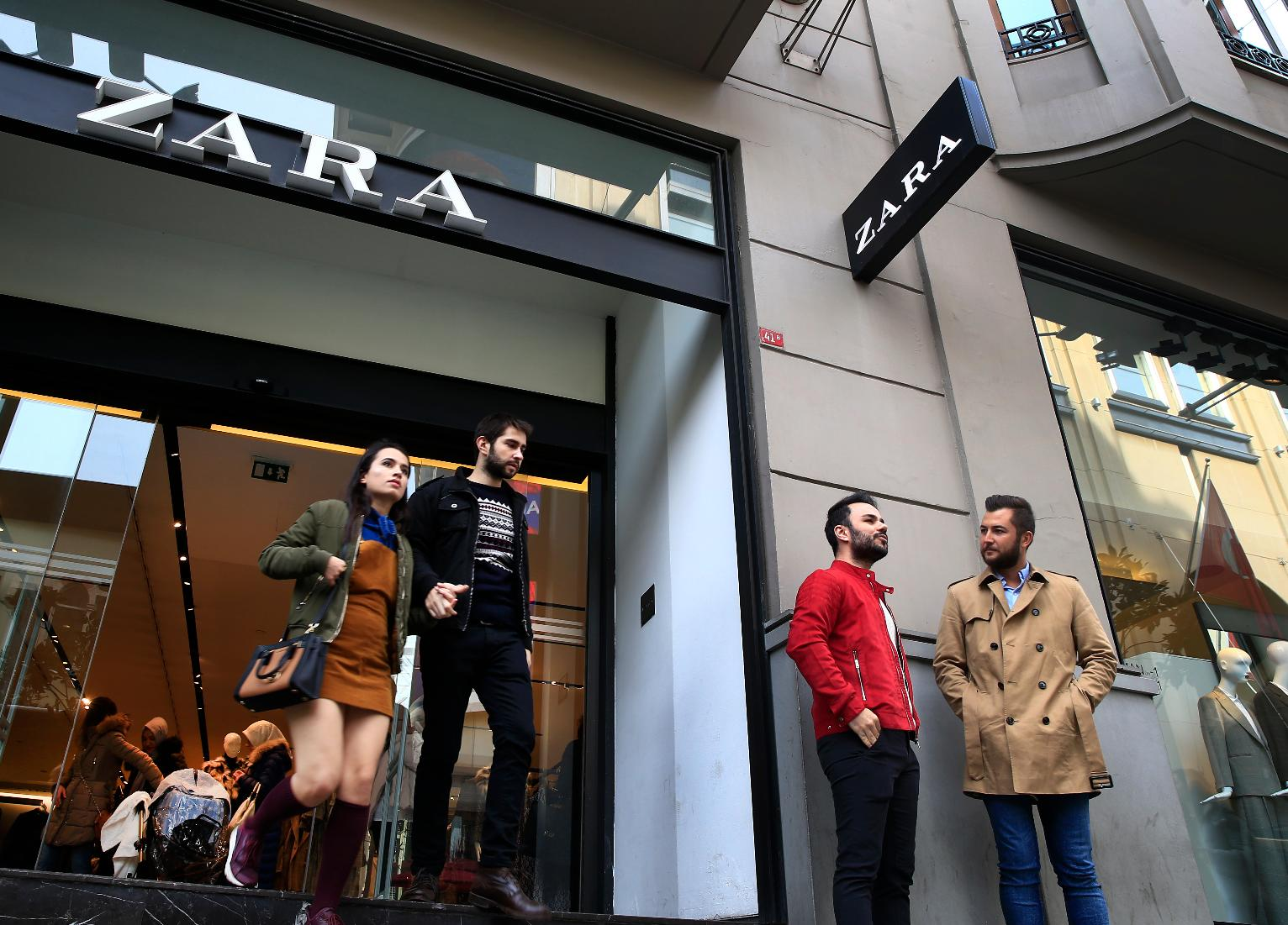 Zara is one of the companies targeted by Chinese netizens