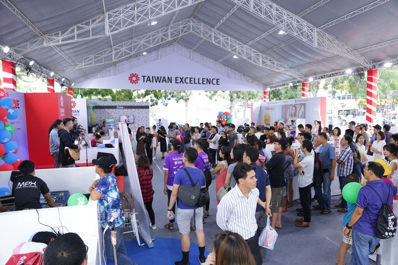 Outstanding Taiwanese products promoted at marathon in Vietnam
