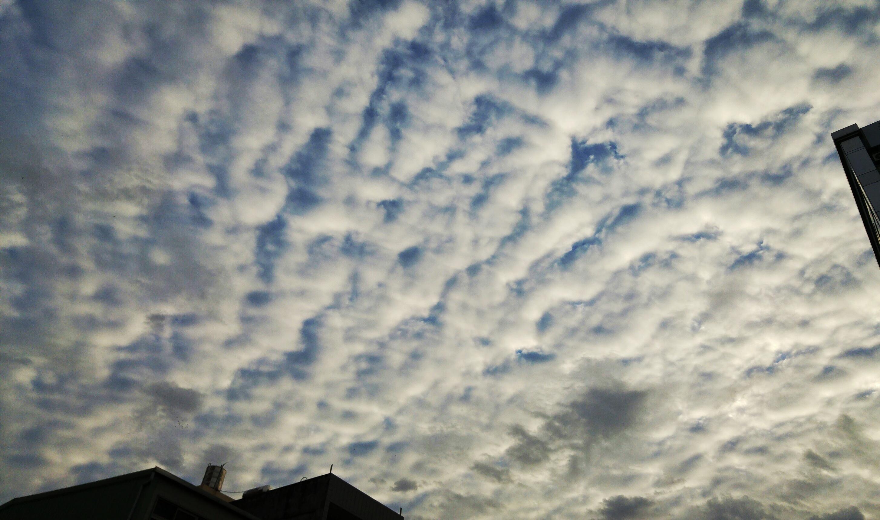 Cloudy sky in Taiwan