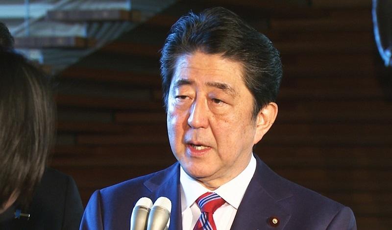 日本首相安倍晉三(圖片來源:首相官邸網站)