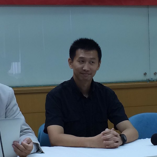 中國異議人士王睿(照片來源:Wikicommons)