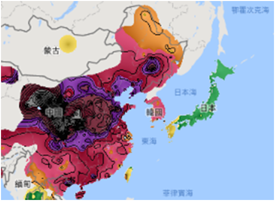 China is single largest source of PM2.5 pollution in Taiwan