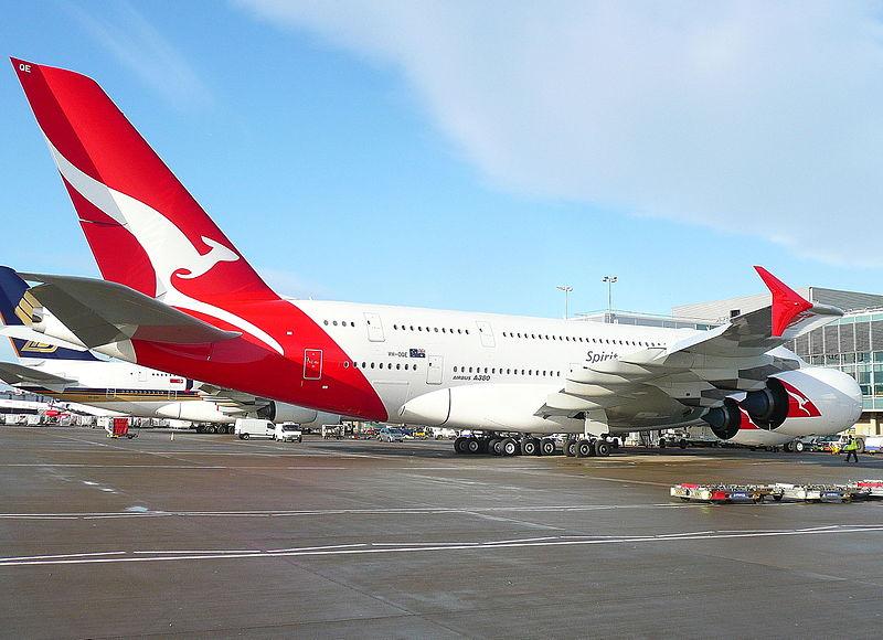 Qantas Airlines Airbus A380