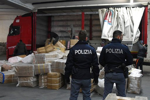Italy breaks up Chinese 'transport mafia' - prosecutors