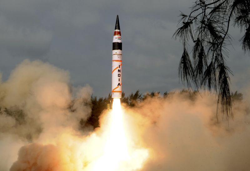 India successfully tests nuke missile