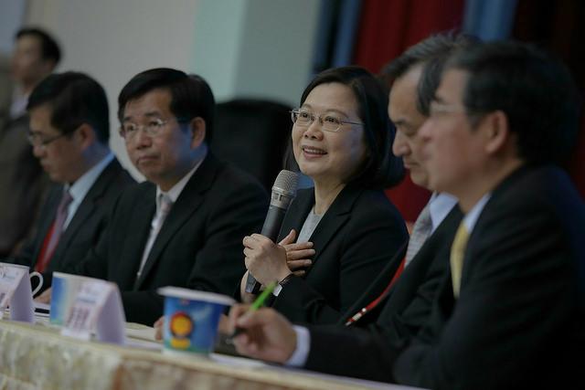 總統出席2018年全國大專校院校長會議(照片來源:總統府提供)