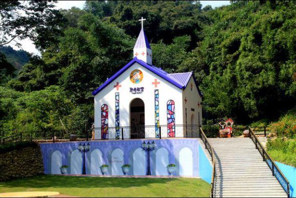 南投埔里月老教堂(圖片來源:月老教堂授權)