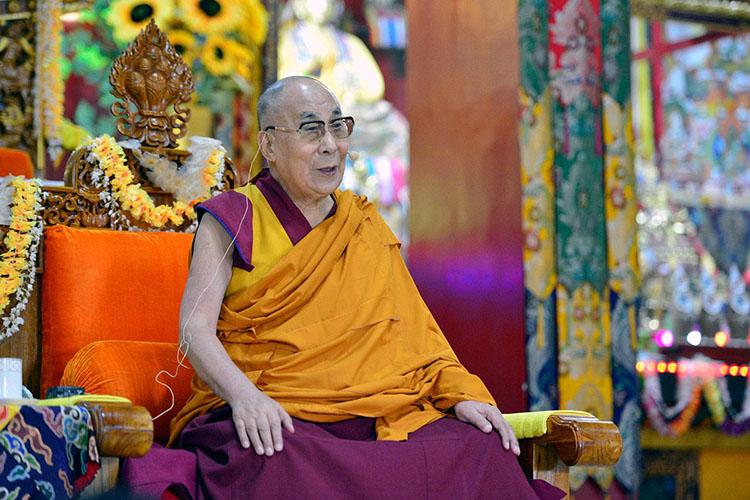 達賴喇嘛(圖片來源:達賴喇嘛之官方網站)