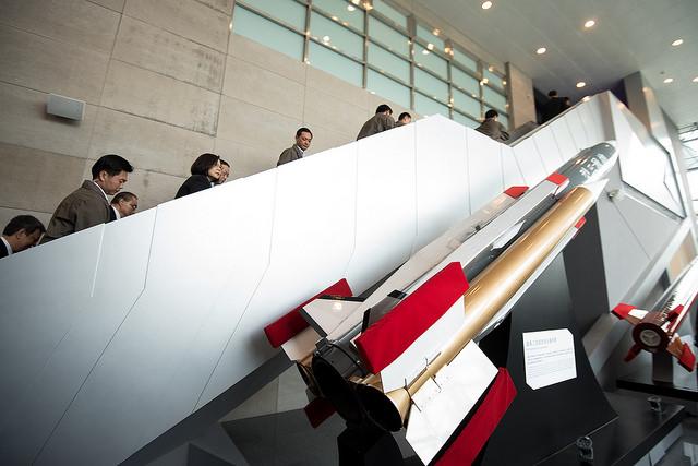 總統蔡英文參訪國家中山科學研究院(照片來源:總統府提供)