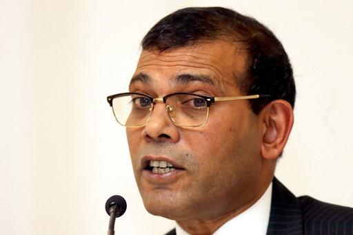 馬爾地夫前領袖穆罕默德·納希德(Mohamed Nasheed)(圖片來源:美聯社)