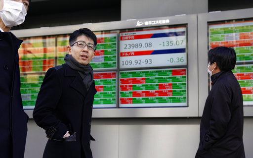 全球經濟示意圖(圖片來源:美聯社)