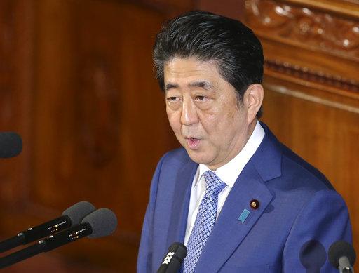 日本首相安倍晉三(圖片來源:美聯社)
