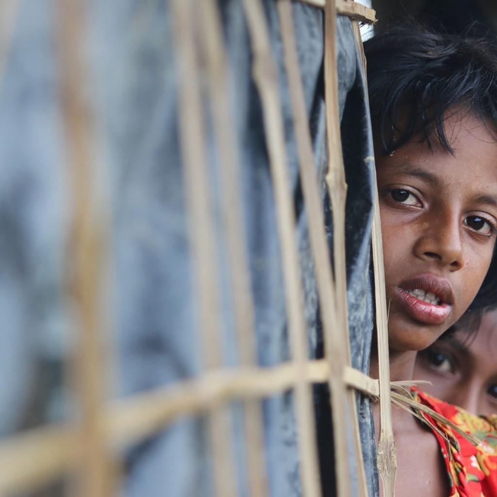 逃至孟加拉的羅興亞難民,寧可冒著死亡的風險也不願回緬甸。 (翻攝 Flickr)