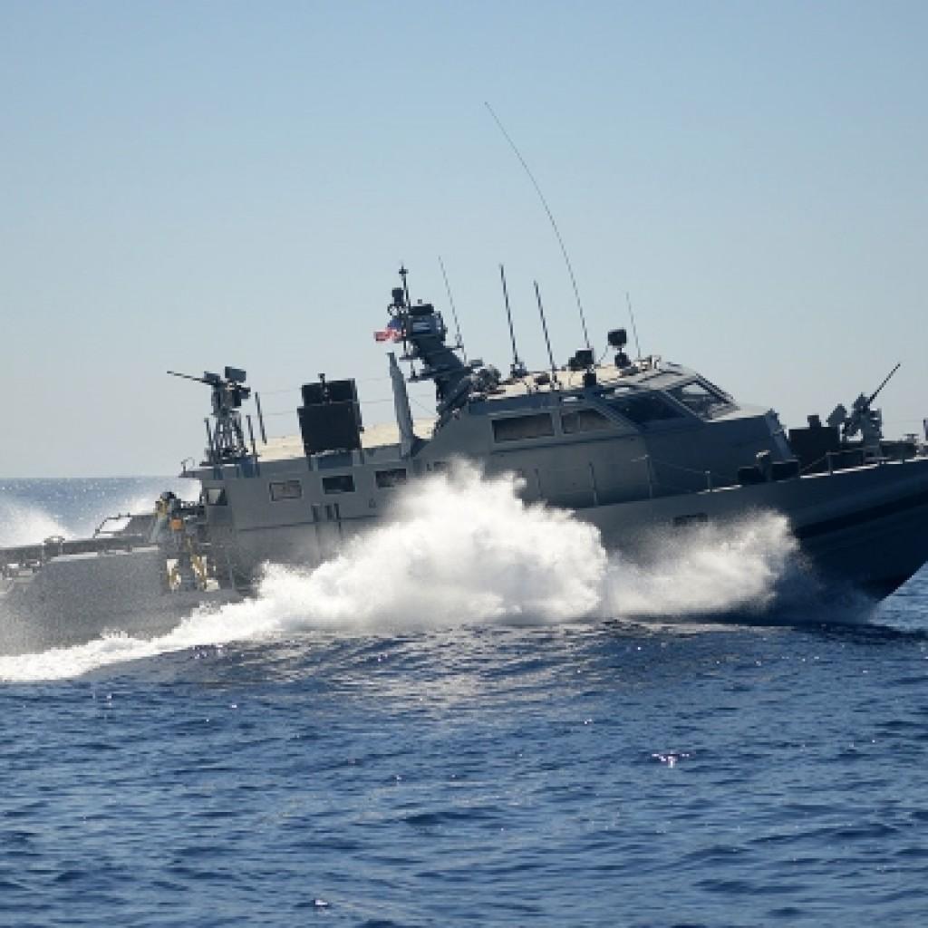 Mark VI patrol boat.