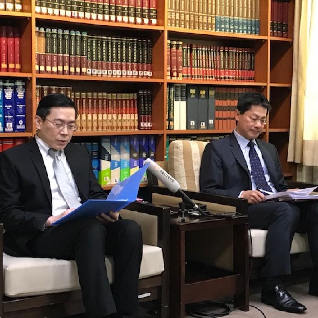 台灣日本關係協會副秘書長范振國(鄧佩儒/台灣英文新聞)