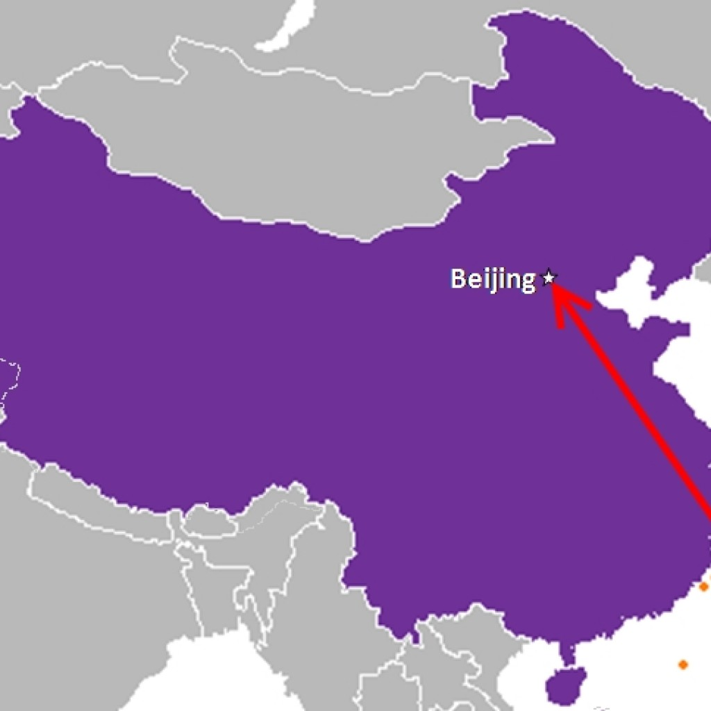 """New """"Cloud Peak"""" missile could possibly reach Beijing."""