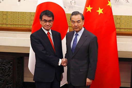 China urges joint efforts with Japan for relations development