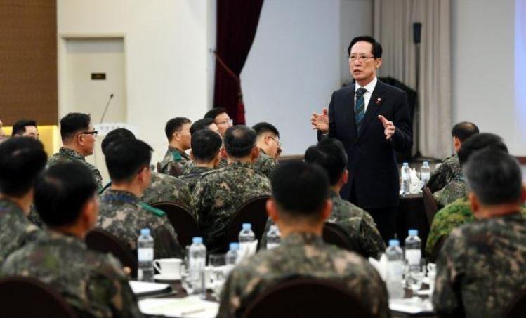 南韓國防部長宋永武(圖片來源:南韓國防部網站截取)