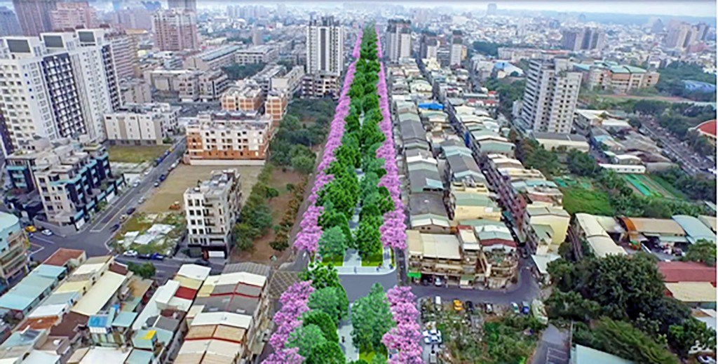 Kaohsiung intensifies efforts to add green spaces within the city.