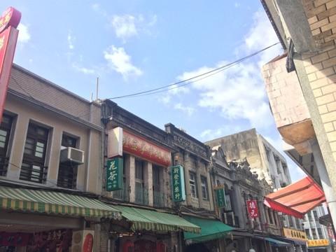 臺北大稻程觀光示意圖(圖片來源:吳東文攝影)