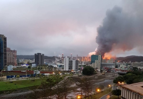 Massive inferno erupts at CPC refinery in Taoyuan