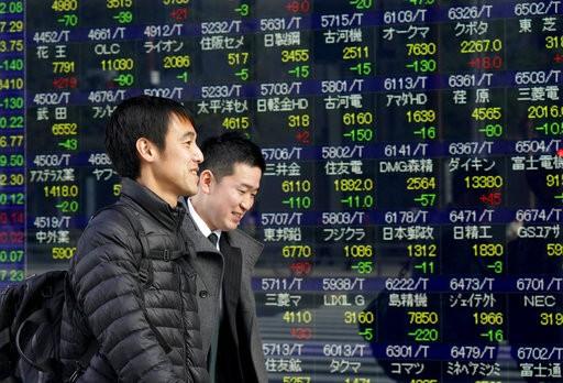 日本經濟示意圖(圖片來源:美聯社)