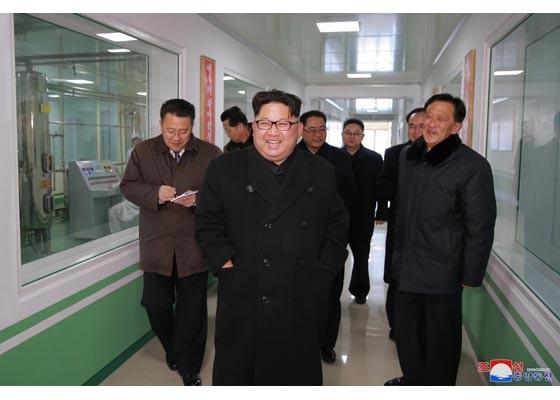 北韓領袖金正恩(圖片來源:北韓勞動新聞)