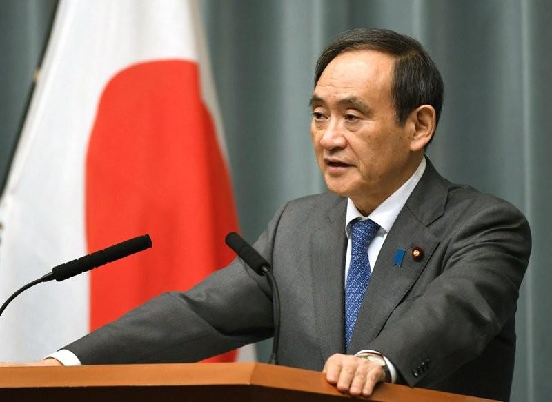 Japan's Chief Cabinet Secretary, Yoshihide Suga.