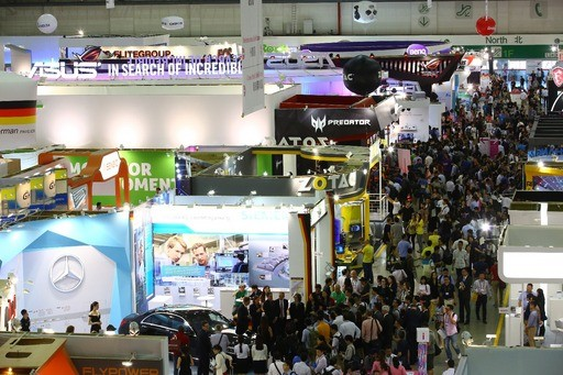 臺北國際電腦展每年總吸引大批人潮
