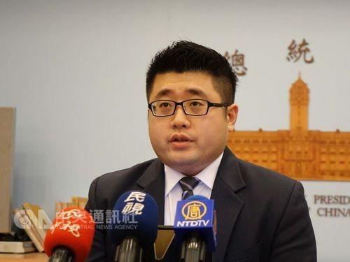 總統府發言人林鶴明