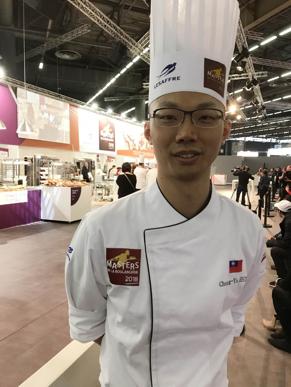 世界麵包大師競賽 謝忠祐「蝴蝶」創意驚豔評審