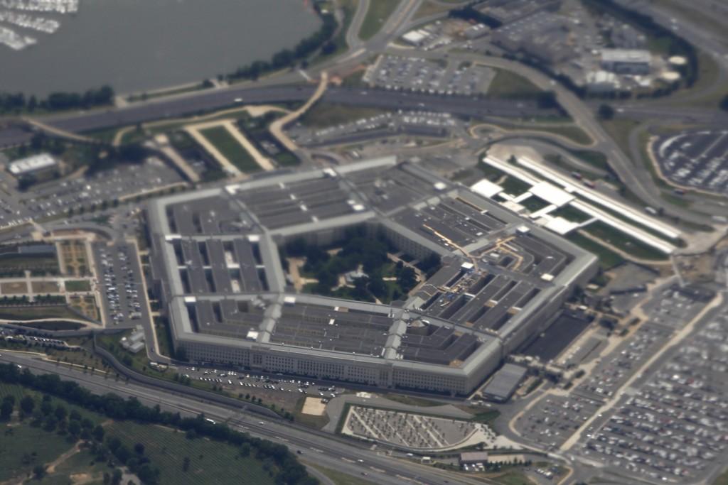 從高空拍攝的美國國防部五角大廈(圖片來源:美聯社)