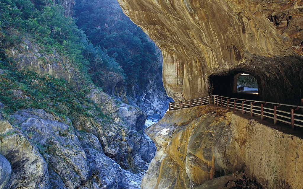 The photo shows Taroko Gorge in Hualien, Taiwan (Crecit: mlqultos/ flickr)