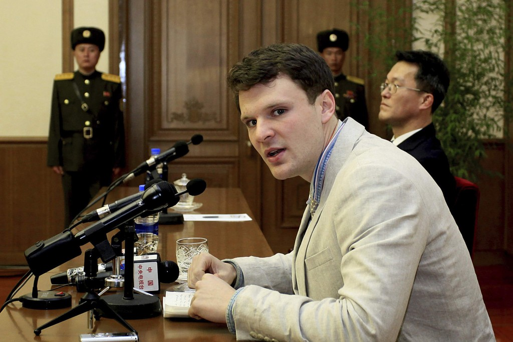 File Photo: Otto Warmbier, Feb. 2016