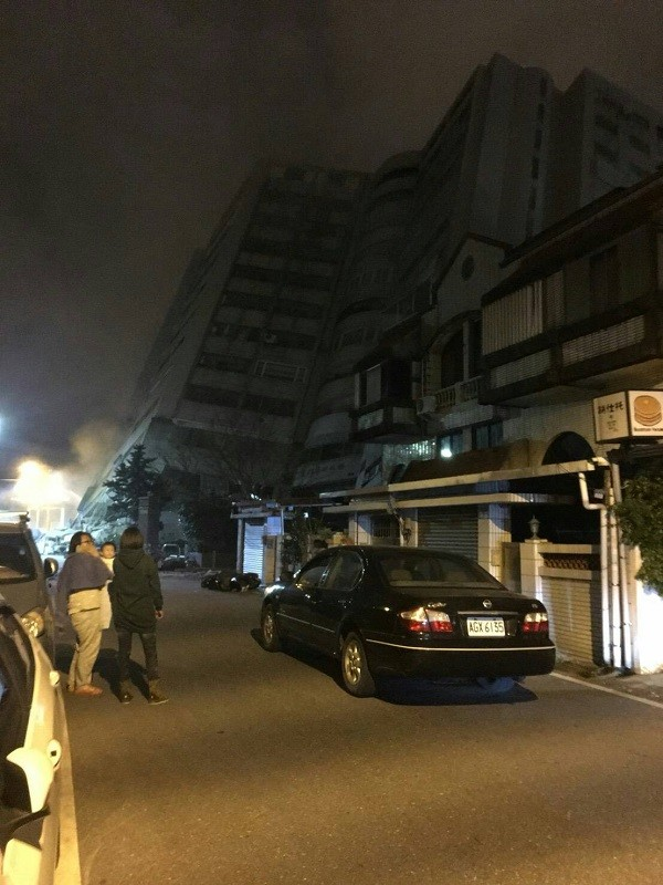 Update: 4 Buildings in eastern Taiwan's Hualien collapse after magnitude 6.0 quake