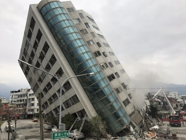 Deadly magnitude-6.4 natural disaster hits Taiwan