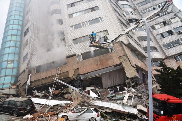 Update: 17 dead, 291 injured after magnitude 6.0 quake strikes eastern Taiwan