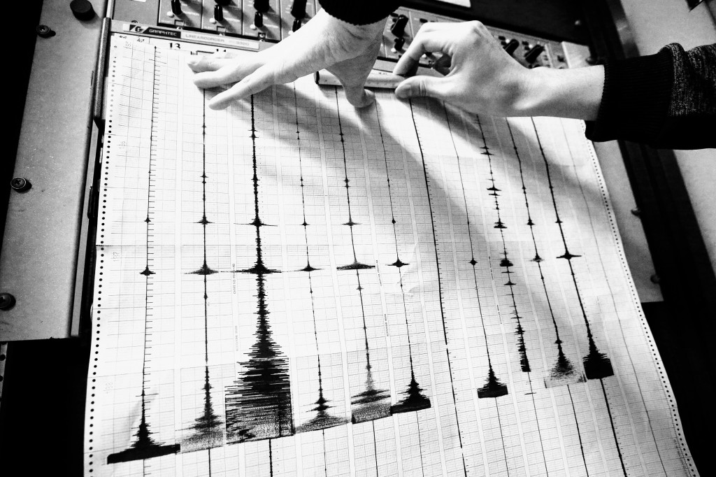 Seismic measurements show a foreboding variation in the size of recent aftershocks.