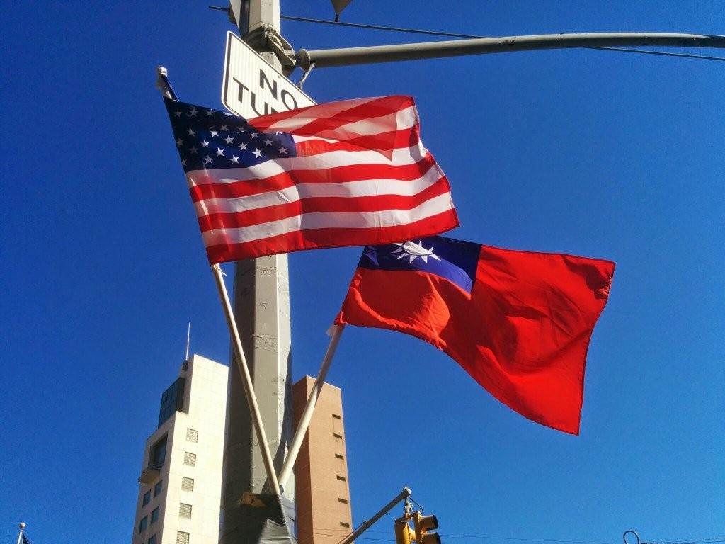 美參議院外交委員會通過「台灣旅行法」,象徵台美關係再邁進一步。 (翻攝 Twitter)