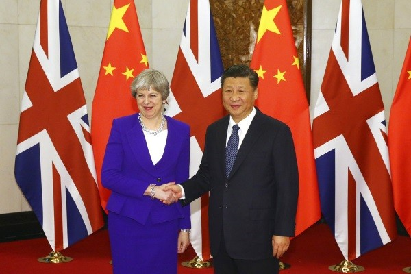 May meets with Xi.
