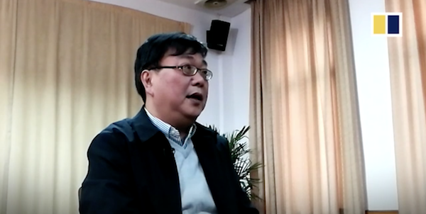 Detained Chinese bookseller slams Sweden in staged video