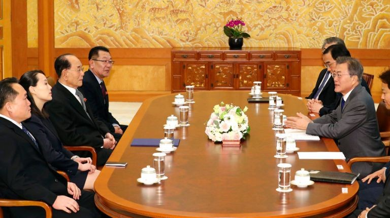 Meeting between North and South Korean Officials