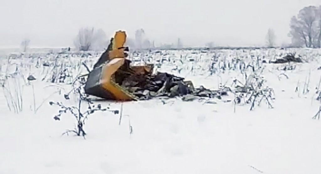 失事飛機照片(圖片來源:美聯社)