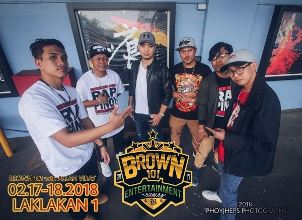 Brown 101 members. (Image by Allan Viray)
