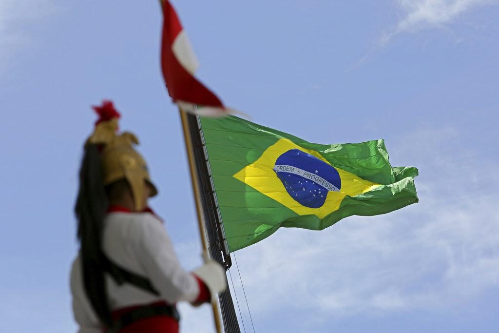 巴西軍方示意圖(圖片來源:美聯社)