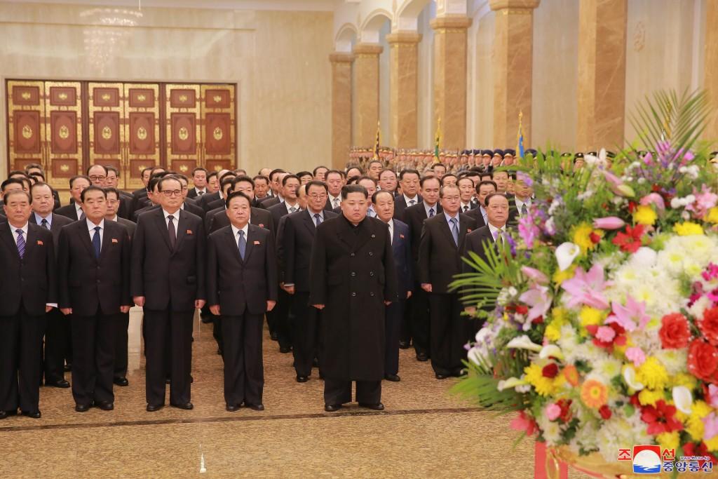 北韓領導人金正恩(圖片來源:北韓勞動新聞)