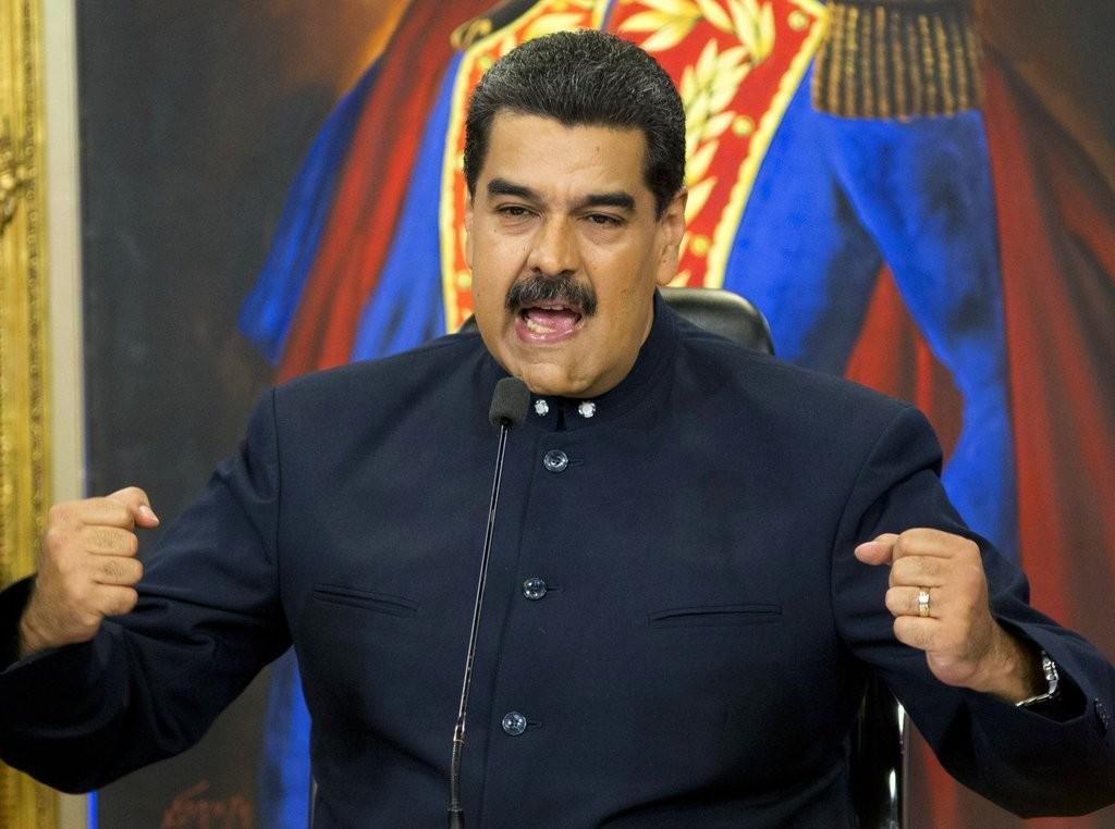 委内瑞拉總統尼古拉斯·馬杜洛(圖片來源:美聯社)