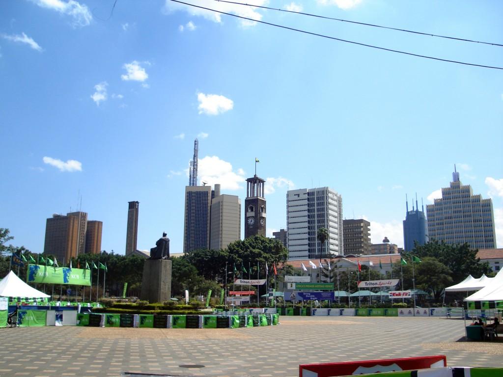 肯亞首都奈洛比(圖片來源:維基百科)