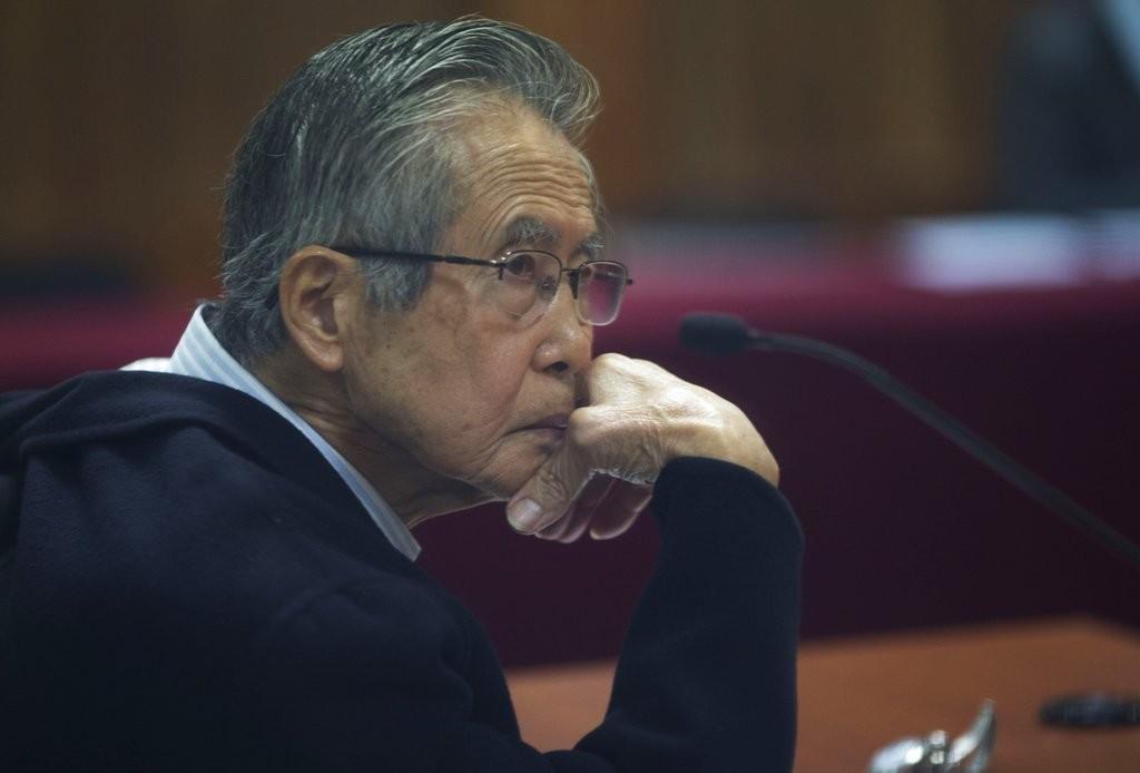 秘魯日裔前總統阿爾韋托·謙也·藤森(圖片來源:美聯社)